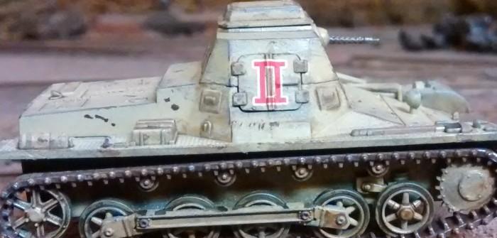 Es geht weiter: Befehls Pz I, Panzer II, Panzer III und Jagdpanther