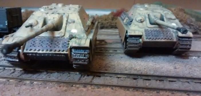 "Das Sd. Kfz. 173: Jagdpanzer V ""Jagdpanther"" im Doppelpack."