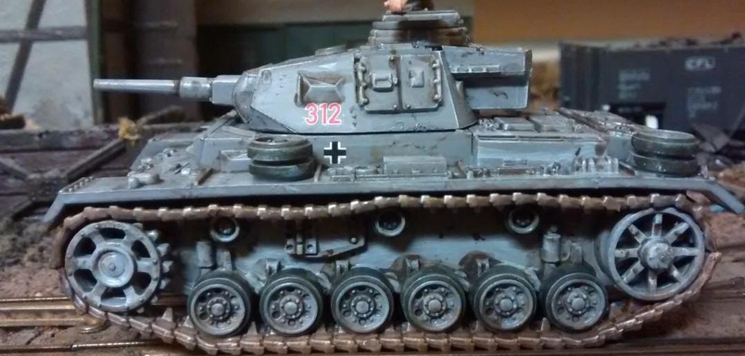 Wieder ein Panzer III L, dieses mal nicht im Wintertarnanstrich.
