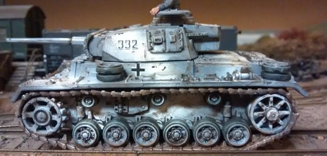 Der Panzer III L (Sd.Kfz. 141) mit seiner langen 5-cm-KwK und der Abstandspanzerung