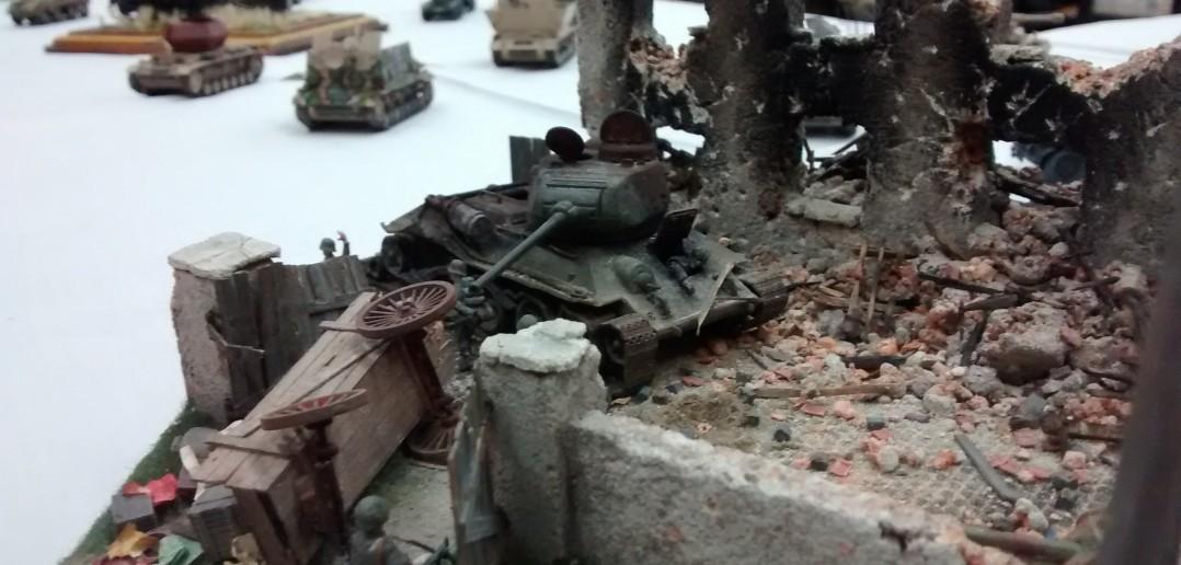 Der T-34/85.
