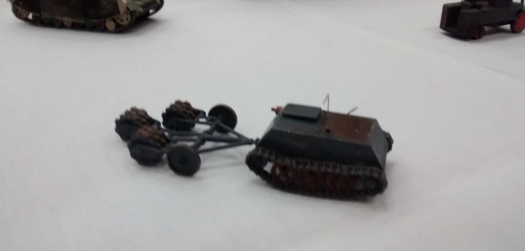 Minenräumfahrzeug, ferngesteuert