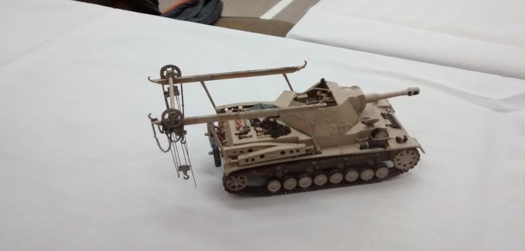 Heuschrecke 10, Waffenträger 10.5cm leFH 18/1 L/28 auf Waffenträger GW IVb