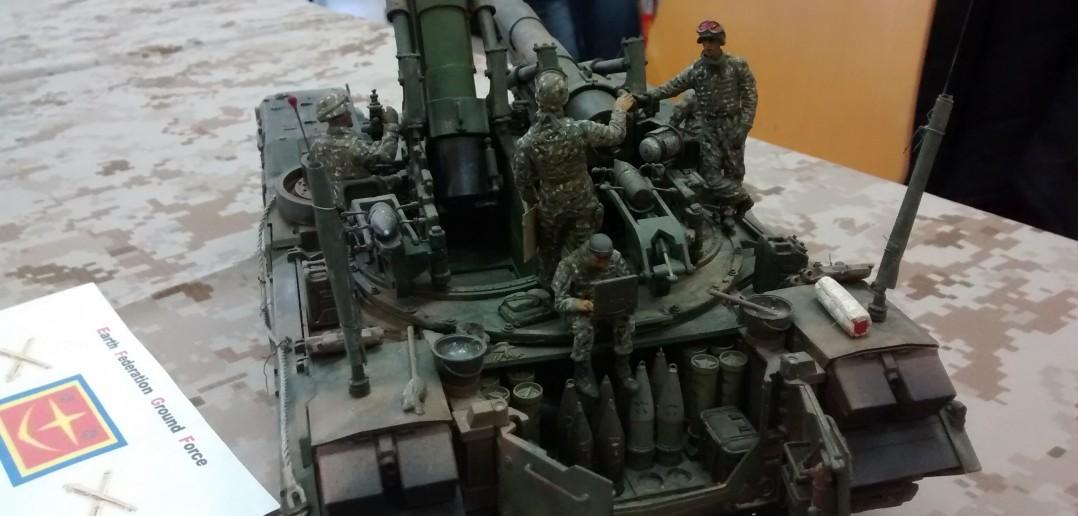 EFGF - Earth Federation Ground Forces - Panzerhaubitze