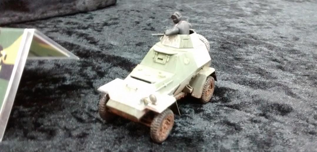 4-Rad-Späh-Panzer
