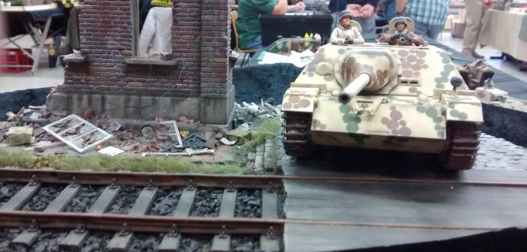 Jagdpanzer IV in Diorama