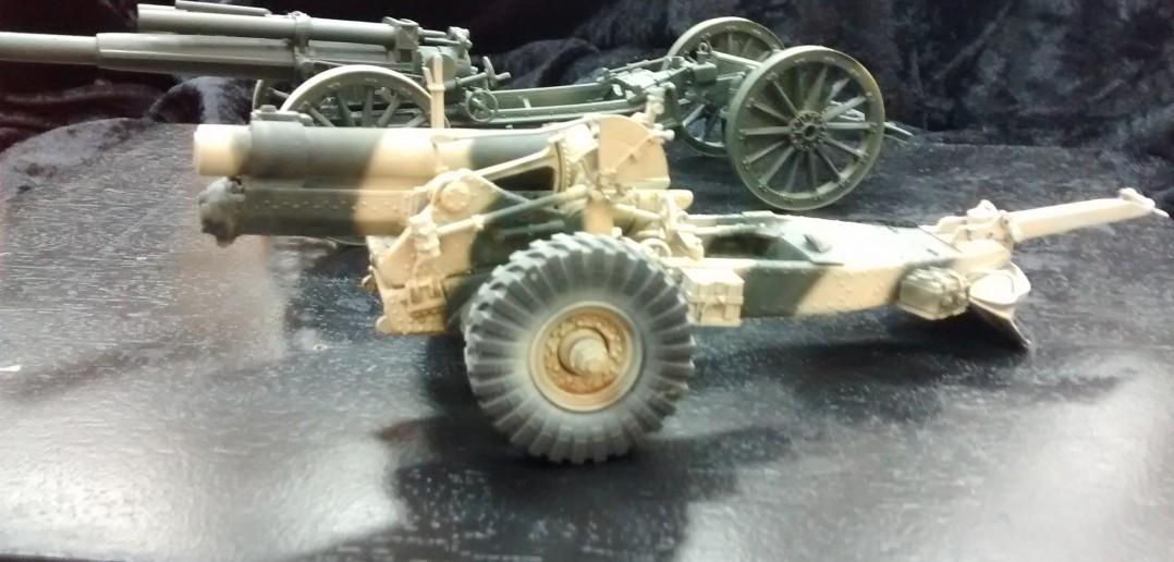 Artillerie des I. Weltkriegs