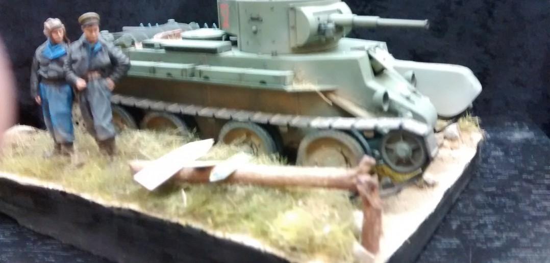 Russischer leichter Panzer BT-7
