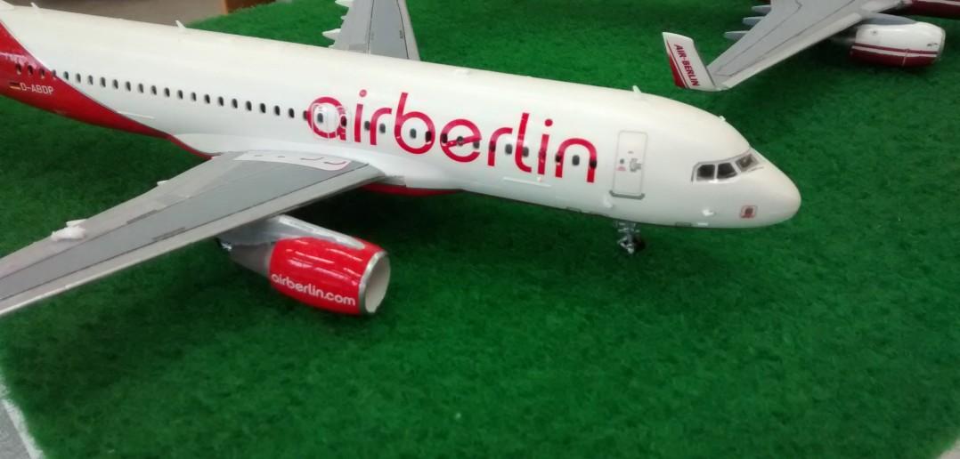 Flugzeugmodell der Airberlin