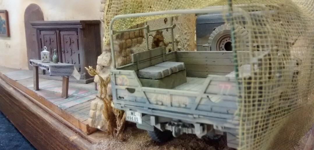 """2cm-Flak 30 des Flak-Regiment 33 bei """"En Nofilia"""""""