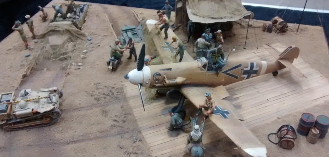 Feldflugplatz Nordafrika