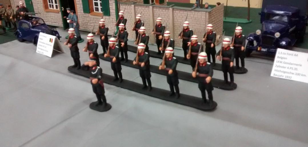 Gendarmerie aus Belgien