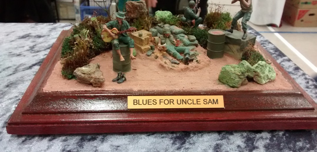 "Diorama ""Blues for Uncle Sam"""