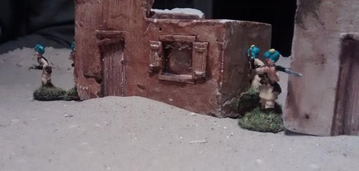 Behind Omaha: kleines Gefecht am Rande des Flugplatzes Bengasi Berka
