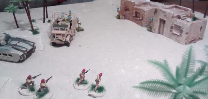 Sturmi lässt die Italiener angreifen, da fast alle Inder ihre Deckung verlassen haben.