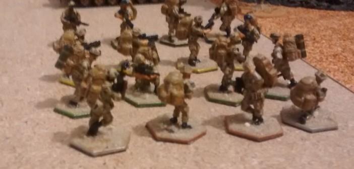 Die Briten: eine Armee von Spezialisten. Mit Unterlauf-Granatwerfern und schnellfeuernden hochwirksamen Waffen würden sie die Taliban schnell hinwegfegen - soweit jedenfalls die Theorie.