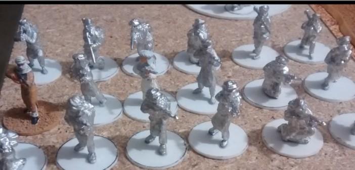 Die sieben RPG-7-Teams der Taliban.