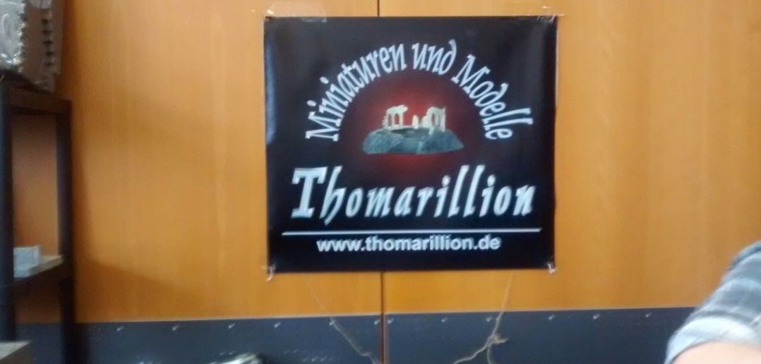 Der Stand von Thomarillion aus Rödermark.