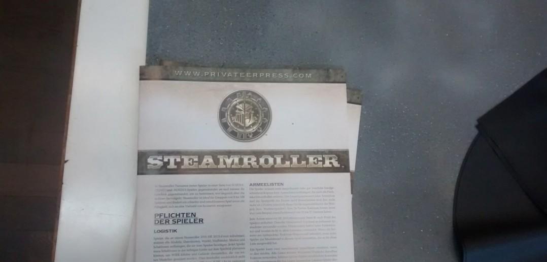 Einige Steamroller-Duelle gab es auch.