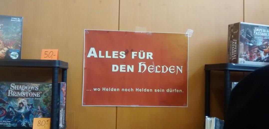 """""""Alles für den Helden""""..."""