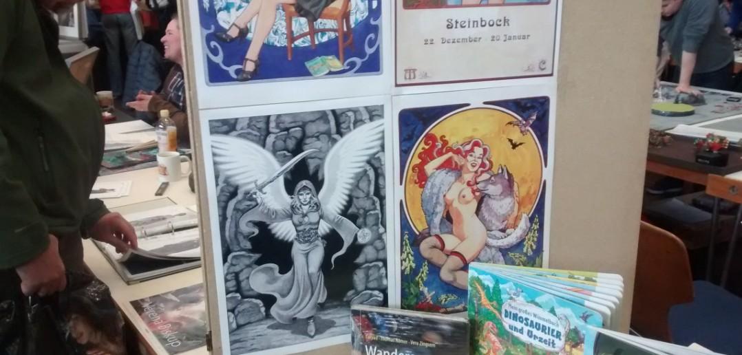 Illustrationen in Poster- und Kalenderblattform