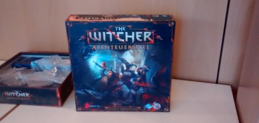"""Brettspiel """"The Witcher"""" aus dem Heidelberger Spieleverlag."""