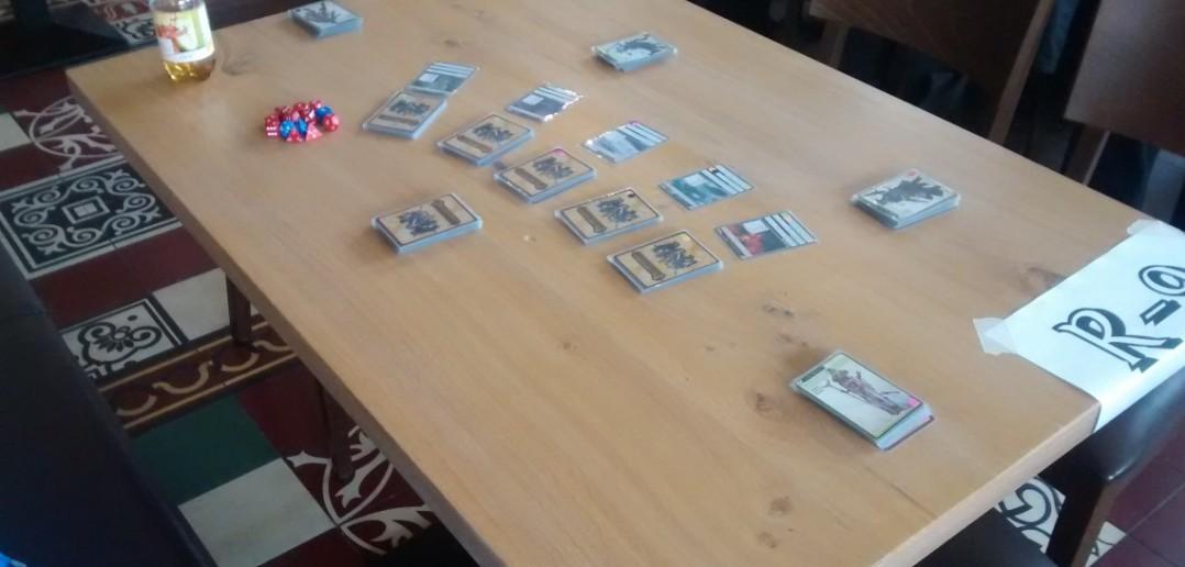 Verschiedene Card-Games werden im Ulisses-Demosaal vorgestellt.
