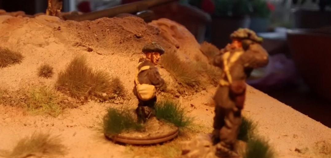 "Artilleriebeobachter: ""Have you seen the tanks?"""