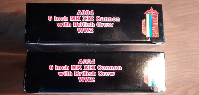 Die Strelets A004 6-inch Mark XIX Cannon: vielversprechender Bausatz mit Stolpersteinen