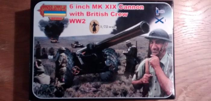 Strelets A004: 6 Inch Mk XIX Cannon: Unboxing und Bau eines ungewöhnlichen Bausatzes