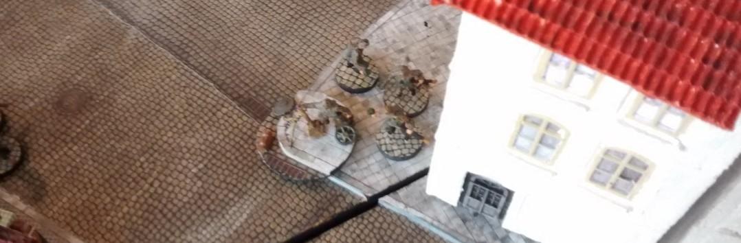 Zur Unterstützung erhielt der 10er-Trupp einen von Sturmis geliebten schweren Mörsern.