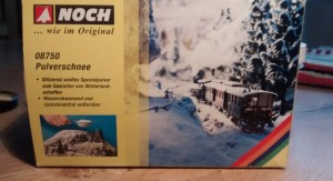 NOCH 08750 Pulverschnee für Modellbahn - und für Sturmis Winter-Grenadiere...