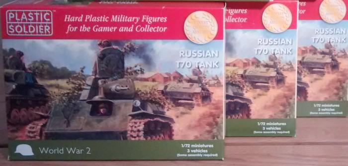 PSC Plastic Soldier Company WW2V20009 Russian T-70, 1:72, 20mm