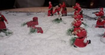 Weihnachtsmann in Uniform: Weihnachten 2015