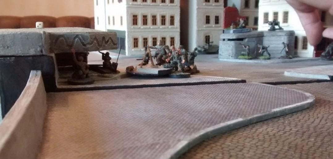 Erstaunlich: der Pak-Bunker und sein verteidigender 10er-Trupp haben nur minimalste Verluste erlitten.