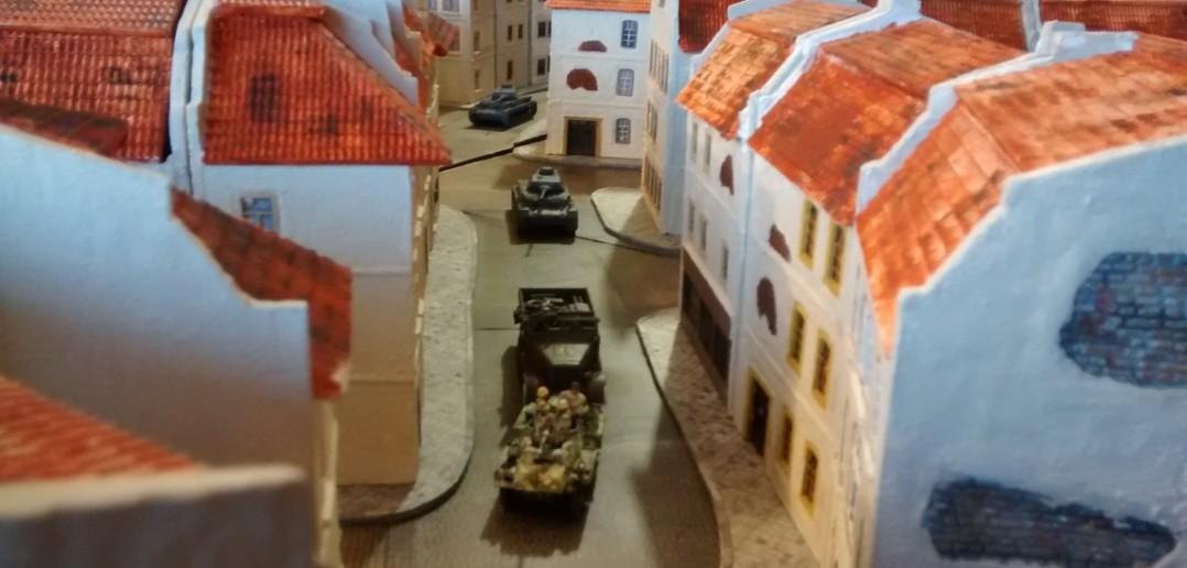 Die Erholung ist nur von kurzer Dauer. Schon bald ziehen weitere deutsche Einheiten in die Gefechtszone ein.