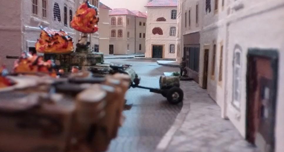 Ein kleines Himmelfahrtskommando ist es ja schon... Aber es sieht so aus, als könnte man jetzt die halbe Stadt erobern.