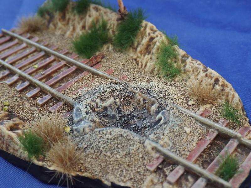 Diorama des Matchbox PK-78 40078 M16 Half Track
