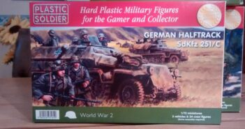 PSC Plastic Soldier Company WW2V20003 German Halftrack Sd.Kfz.251/C, 1:72, 20mm