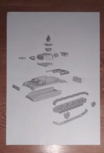 Seite 2 der Bauanleitung des Panzer IV der Plastic Soldier Company.