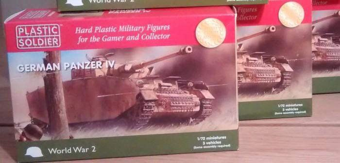 PSC Plastic Soldier Company WW2V20002 German Panzer IV