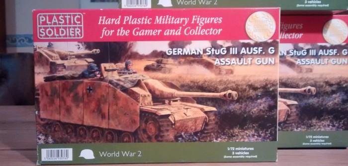 PSC Plastic Soldier Company WW2V20008 German StuG III Ausf. G Assault Gun