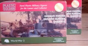 PSC Plastic Soldier Company WW2V20019 German Panzer 38(t) and Marder Variants