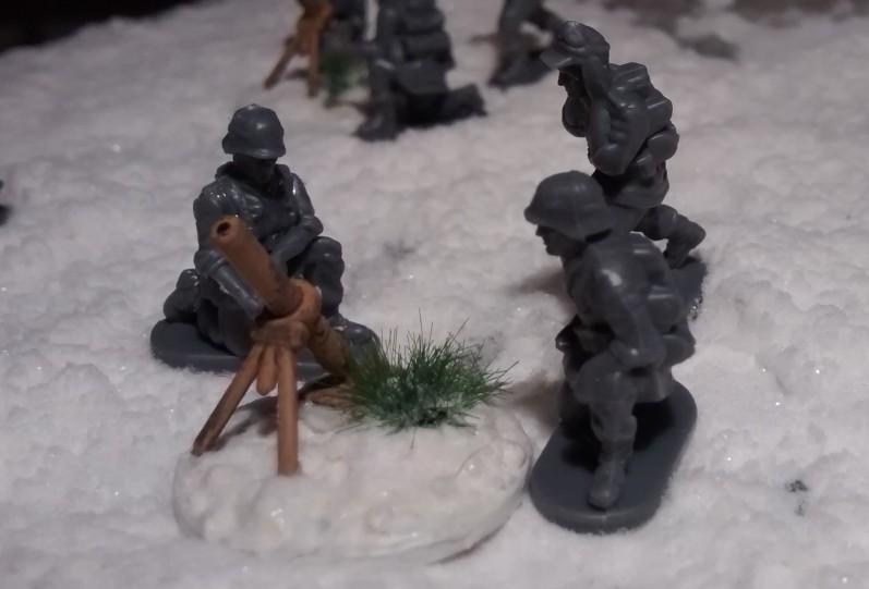 """Der erste 81-mm-Mörser aus dem PSC-Set """"German Late War Heavy Weapons"""""""