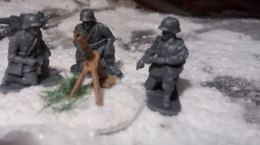 "Der dritte 81-mm-Mörser aus dem PSC-Set ""German Late War Heavy Weapons"""