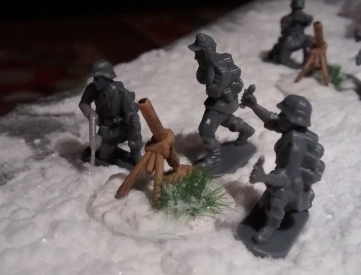 """Der fünfte 81-mm-Mörser aus dem PSC-Set """"German Late War Heavy Weapons"""""""