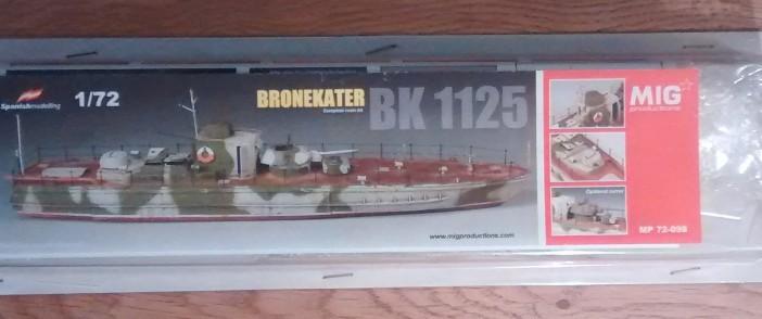 Der Bausatz des Bronekater BK-1125 von MIG Productions.