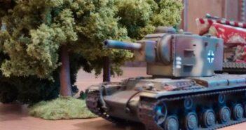 Panzerbär-Szenario #1: KV-2 vs. 3x T-34/76 und 3x ZIS-3