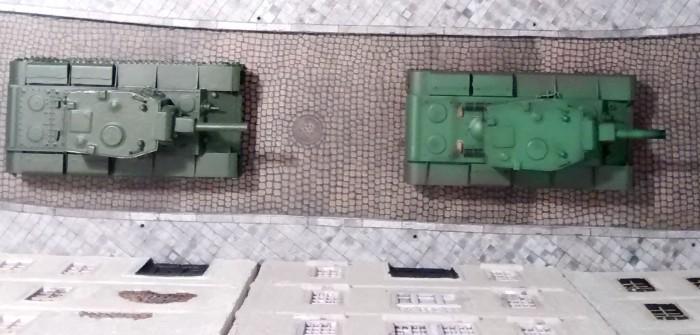 Panzerbär-Szenario #2: zwei KV-2 vs. 6x StuG III und 2x Pz IV