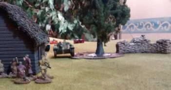 2. Spiel am 4. BO-Spieltag: Angriff der Panzerjäger-Abteilung 731 bei Tukkum